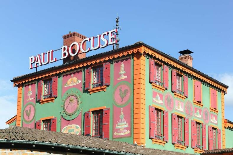 L'Auberge du Pont de Collonges, restaurant de Paul Bocuse à Lyon